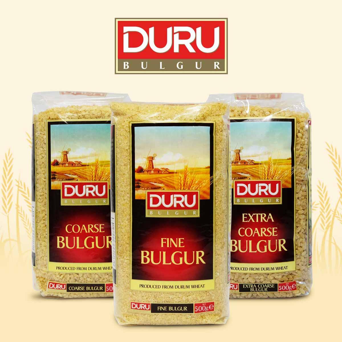 A healthier alternative to rice: Duru Bulgur